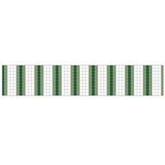 Plaid Line Green Line Vertical Flano Scarf (large) by Mariart