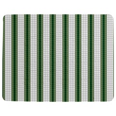 Plaid Line Green Line Vertical Jigsaw Puzzle Photo Stand (rectangular) by Mariart