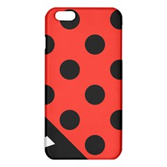 Red Black Hole White Line Wave Chevron Polka Circle Iphone 6 Plus/6s Plus Tpu Case by Mariart