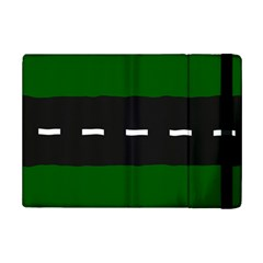 Road Street Green Black White Line Ipad Mini 2 Flip Cases by Mariart