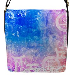 Horoscope Compatibility Love Romance Star Signs Zodiac Flap Messenger Bag (s) by Mariart