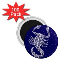 Scorpio Zodiac Star 1 75  Magnets (100 Pack)  by Mariart
