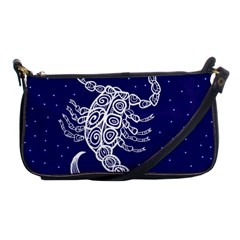 Scorpio Zodiac Star Shoulder Clutch Bags by Mariart