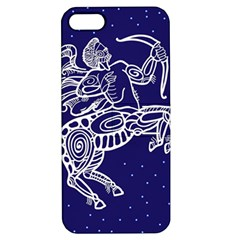 Sagitarius Zodiac Star Apple Iphone 5 Hardshell Case With Stand