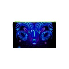 Sign Aries Zodiac Cosmetic Bag (xs) by Mariart