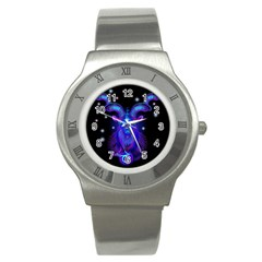 Sign Capricorn Zodiac Stainless Steel Watch by Mariart