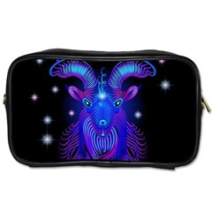 Sign Capricorn Zodiac Toiletries Bags