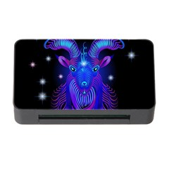 Sign Capricorn Zodiac Memory Card Reader With Cf by Mariart