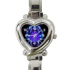 Sign Cancer Zodiac Heart Italian Charm Watch by Mariart