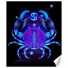 Sign Cancer Zodiac Canvas 8  X 10  by Mariart