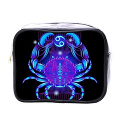 Sign Cancer Zodiac Mini Toiletries Bags by Mariart