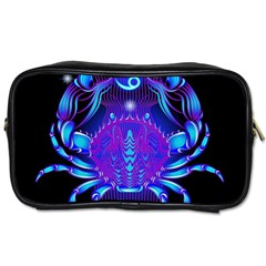 Sign Cancer Zodiac Toiletries Bags 2 Side by Mariart