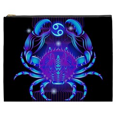 Sign Cancer Zodiac Cosmetic Bag (xxxl)  by Mariart