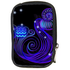 Sign Aquarius Zodiac Compact Camera Cases by Mariart