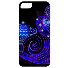 Sign Aquarius Zodiac Apple Iphone 5 Classic Hardshell Case by Mariart