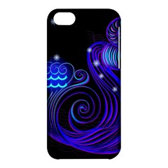 Sign Aquarius Zodiac Apple Iphone 5c Hardshell Case by Mariart