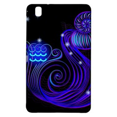 Sign Aquarius Zodiac Samsung Galaxy Tab Pro 8 4 Hardshell Case by Mariart