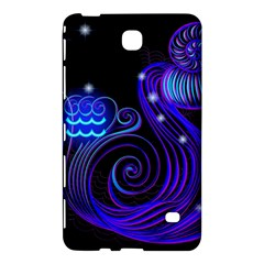 Sign Aquarius Zodiac Samsung Galaxy Tab 4 (8 ) Hardshell Case  by Mariart