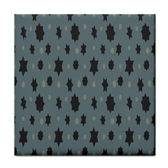 Star Space Black Grey Blue Sky Tile Coasters by Mariart