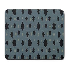 Star Space Black Grey Blue Sky Large Mousepads by Mariart