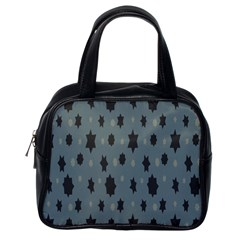 Star Space Black Grey Blue Sky Classic Handbags (one Side) by Mariart