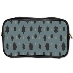 Star Space Black Grey Blue Sky Toiletries Bags 2 Side by Mariart