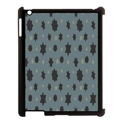 Star Space Black Grey Blue Sky Apple Ipad 3/4 Case (black) by Mariart