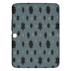 Star Space Black Grey Blue Sky Samsung Galaxy Tab 3 (10 1 ) P5200 Hardshell Case  by Mariart