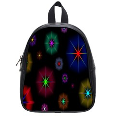 Star Space Galaxy Rainboiw Circle Wave Chevron School Bags (small)  by Mariart