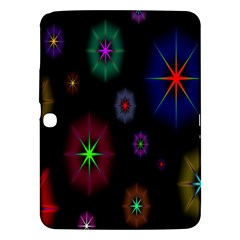 Star Space Galaxy Rainboiw Circle Wave Chevron Samsung Galaxy Tab 3 (10 1 ) P5200 Hardshell Case