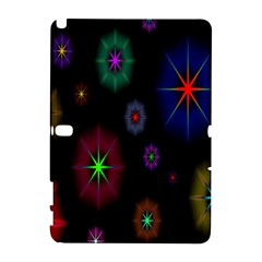 Star Space Galaxy Rainboiw Circle Wave Chevron Galaxy Note 1 by Mariart