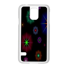 Star Space Galaxy Rainboiw Circle Wave Chevron Samsung Galaxy S5 Case (white) by Mariart