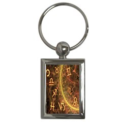 Romance Zodiac Star Space Key Chains (rectangle)  by Mariart