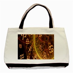 Romance Zodiac Star Space Basic Tote Bag (two Sides) by Mariart