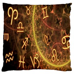 Romance Zodiac Star Space Large Flano Cushion Case (one Side) by Mariart