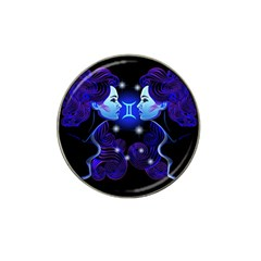 Sign Gemini Zodiac Hat Clip Ball Marker (10 Pack) by Mariart
