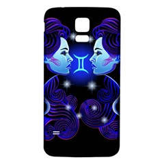 Sign Gemini Zodiac Samsung Galaxy S5 Back Case (white) by Mariart