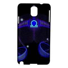 Sign Libra Zodiac Samsung Galaxy Note 3 N9005 Hardshell Case by Mariart