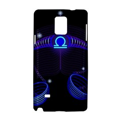 Sign Libra Zodiac Samsung Galaxy Note 4 Hardshell Case by Mariart