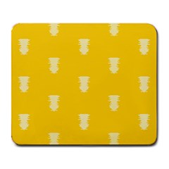 Waveform Disco Wahlin Retina White Yellow Vertical Large Mousepads by Mariart