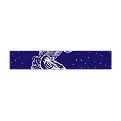 Virgo Zodiac Star Flano Scarf (mini) by Mariart