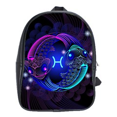 Sign Pisces Zodiac School Bags(large)