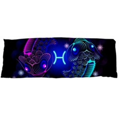 Sign Pisces Zodiac Body Pillow Case Dakimakura (two Sides) by Mariart