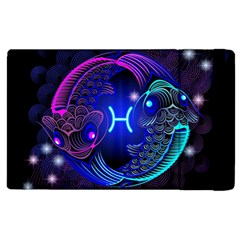 Sign Pisces Zodiac Apple Ipad 2 Flip Case by Mariart