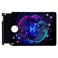 Sign Pisces Zodiac Apple Ipad 3/4 Flip 360 Case by Mariart