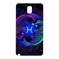 Sign Pisces Zodiac Samsung Galaxy Note 3 N9005 Hardshell Back Case by Mariart
