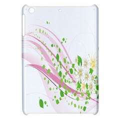 Sunflower Flower Floral Leaf Line Wave Chevron Pink Apple Ipad Mini Hardshell Case by Mariart