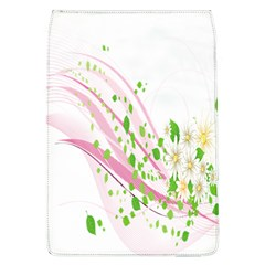 Sunflower Flower Floral Leaf Line Wave Chevron Pink Flap Covers (l)  by Mariart