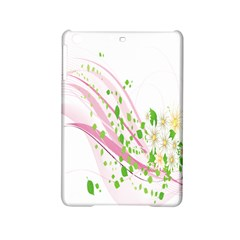 Sunflower Flower Floral Leaf Line Wave Chevron Pink Ipad Mini 2 Hardshell Cases by Mariart