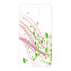 Sunflower Flower Floral Leaf Line Wave Chevron Pink Samsung Galaxy Note 3 N9005 Hardshell Back Case by Mariart